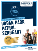 Urban Park Patrol Sergeant