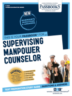 Supervising Manpower Counselor