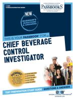 Chief Beverage Control Investigator