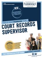 Court Records Supervisor