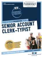 Senior Account Clerk-Typist