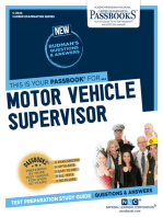 Motor Vehicle Supervisor