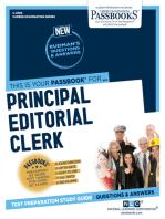 Principal Editorial Clerk