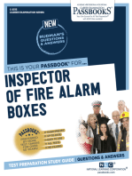 Inspector of Fire Alarm Boxes