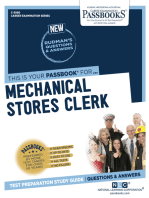 Mechanical Stores Clerk