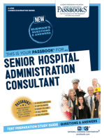 Senior Hospital Administration Consultant