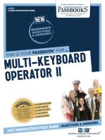 Multi-Keyboard Operator II