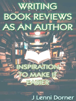 Writing Book Reviews As An Author