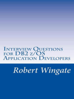Interview Questions for DB2 z/OS Application Developers