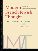 Modern French Jewish Thought: Writings on Religion and Politics