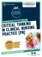 CRITICAL THINKING IN CLINICAL NURSING PRACTICE (PN)