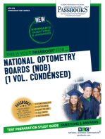 NATIONAL OPTOMETRY BOARDS (NOB) (1 VOL.)