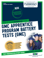 GMC APPRENTICE PROGRAM BATTERY TESTS (GMC)