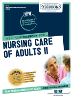 NURSING CARE OF ADULTS II