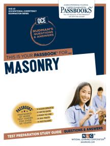 MASONRY: Passbooks Study Guide