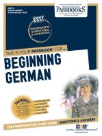 BEGINNING GERMAN