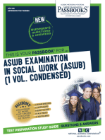 ASWB EXAMINATION IN SOCIAL WORK [ASWB] (1 VOL.)