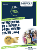 Introduction to Computer Programming (using Java)