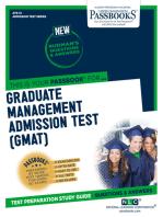 GRADUATE MANAGEMENT ADMISSION TEST (GMAT)