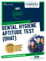 DENTAL HYGIENE APTITUDE TEST (DHAT)