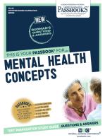 MENTAL HEALTH CONCEPTS