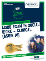 ASWB EXAMINATION IN SOCIAL WORK – CLINICAL (ASWB/IV)