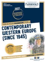 CONTEMPORARY WESTERN EUROPE