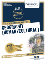 GEOGRAPHY (HUMAN/CULTURAL)