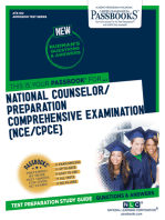 NATIONAL COUNSELOR EXAMINATION (NCE): Passbooks Study Guide