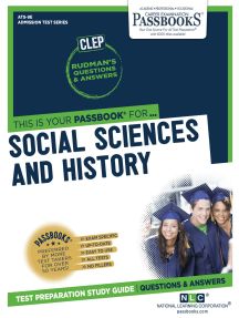 SOCIAL SCIENCES AND HISTORY: Passbooks Study Guide