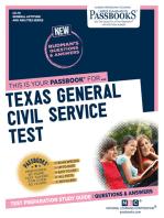 Texas General Civil Service Test