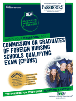 COMMISSION ON GRADUATES OF FOREIGN NURSING SCHOOLS QUALIFYING EXAMINATION (CGFNS)