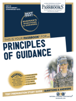 PRINCIPLES OF GUIDANCE