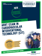 ARRT EXAMINATION IN CARDIOVASCULAR-INTERVENTIONAL TECHNOLOGY (CIT)