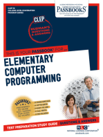 ELEMENTARY COMPUTER PROGRAMMING