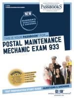 Postal Maintenance Mechanic Exam 933