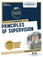 PRINCIPLES OF SUPERVISION