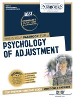 PSYCHOLOGY OF ADJUSTMENT