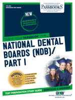 NATIONAL DENTAL BOARDS (NDB) / PART I