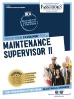 Maintenance Supervisor II
