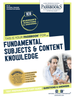 Fundamental Subjects