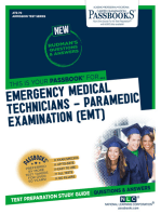 EMERGENCY MEDICAL TECHNICIANS-PARAMEDIC EXAMINATION (EMT)