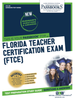 FLORIDA TEACHER CERTIFICATION EXAM (FTCE)