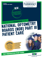 NATIONAL OPTOMETRY BOARDS (NOB) Part III PATIENT CARE