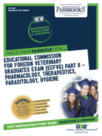 EDUCATIONAL COMMISSION FOR FOREIGN VETERINARY GRADUATES EXAMINATION (ECFVG) PART II - Pharmacology, Therapeutics, Parasitology, Hygiene