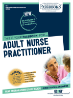ADULT NURSE PRACTITIONER