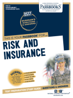 RISK AND INSURANCE