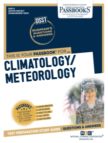 CLIMATOLOGY/METEOROLOGY: Passbooks Study Guide
