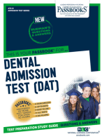 DENTAL ADMISSION TEST (DAT)