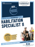 Habilitation Specialist II